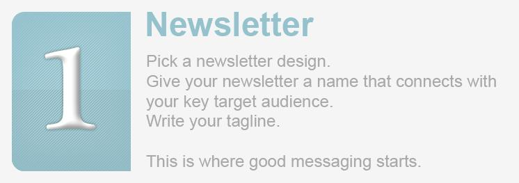 <div>Get started building a newsletter today.</div>